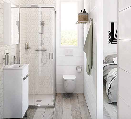 modern design for small bathrooms